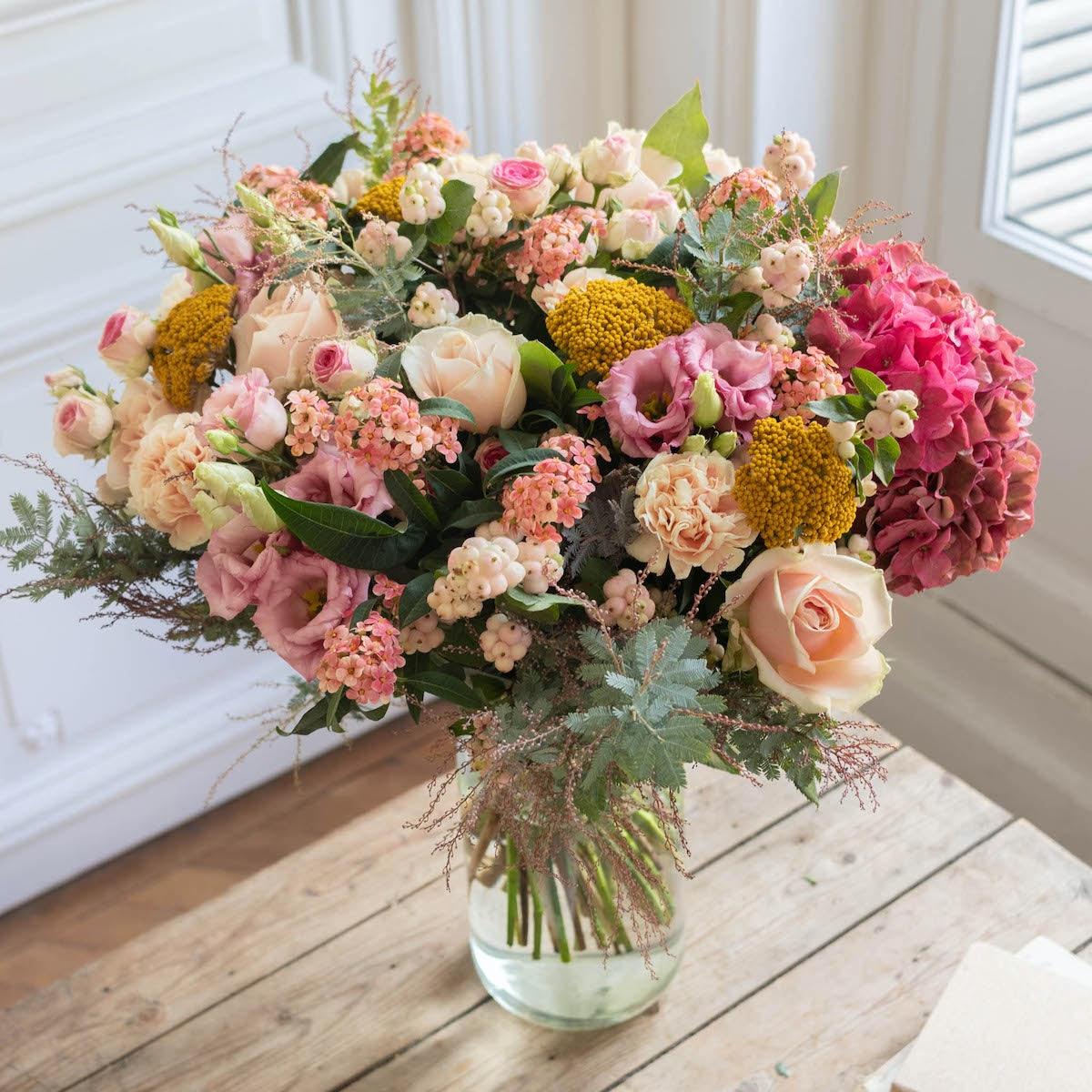 Bouquet Bilbao & vase Le Parfait