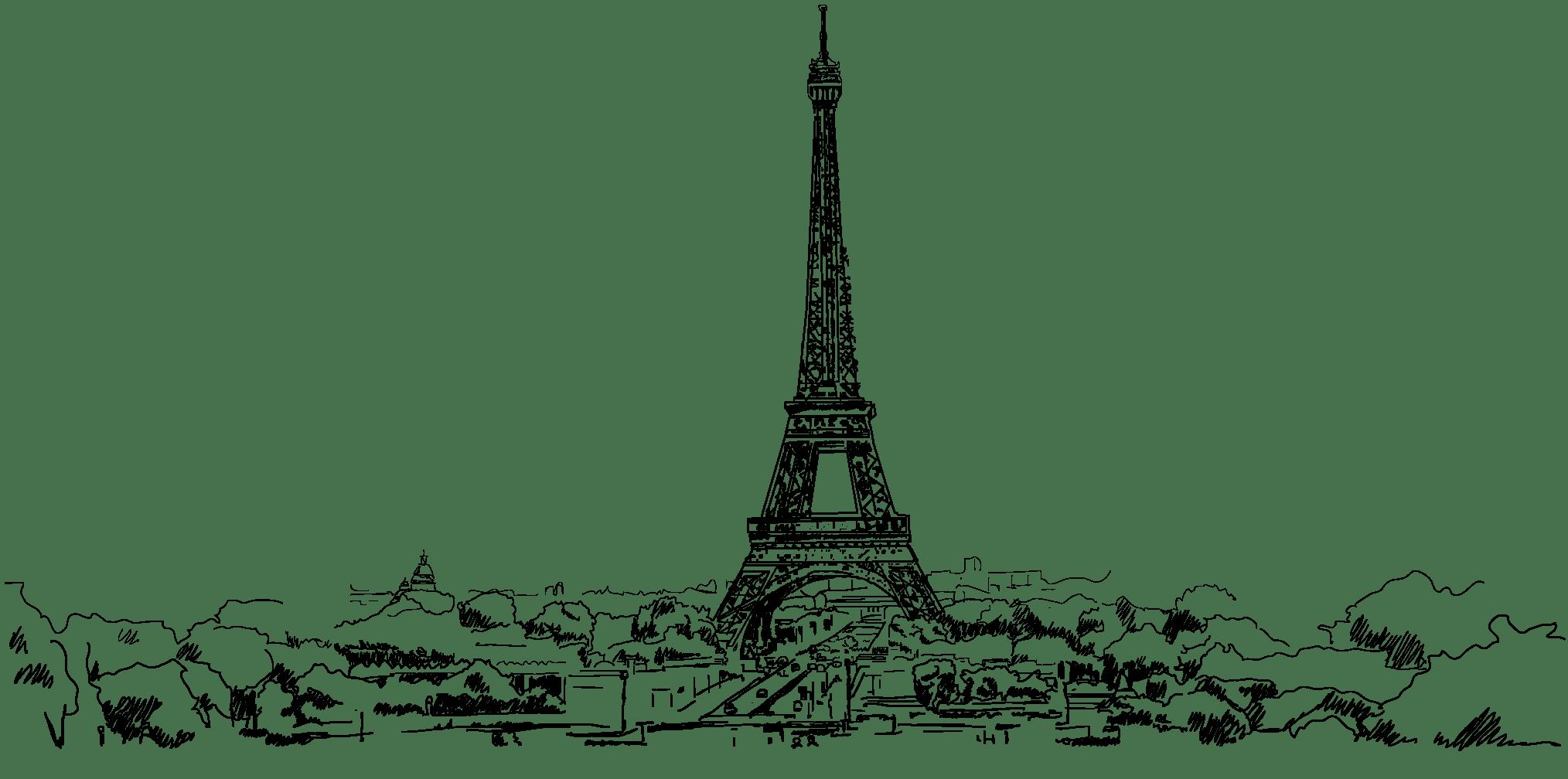 Paris delivery map