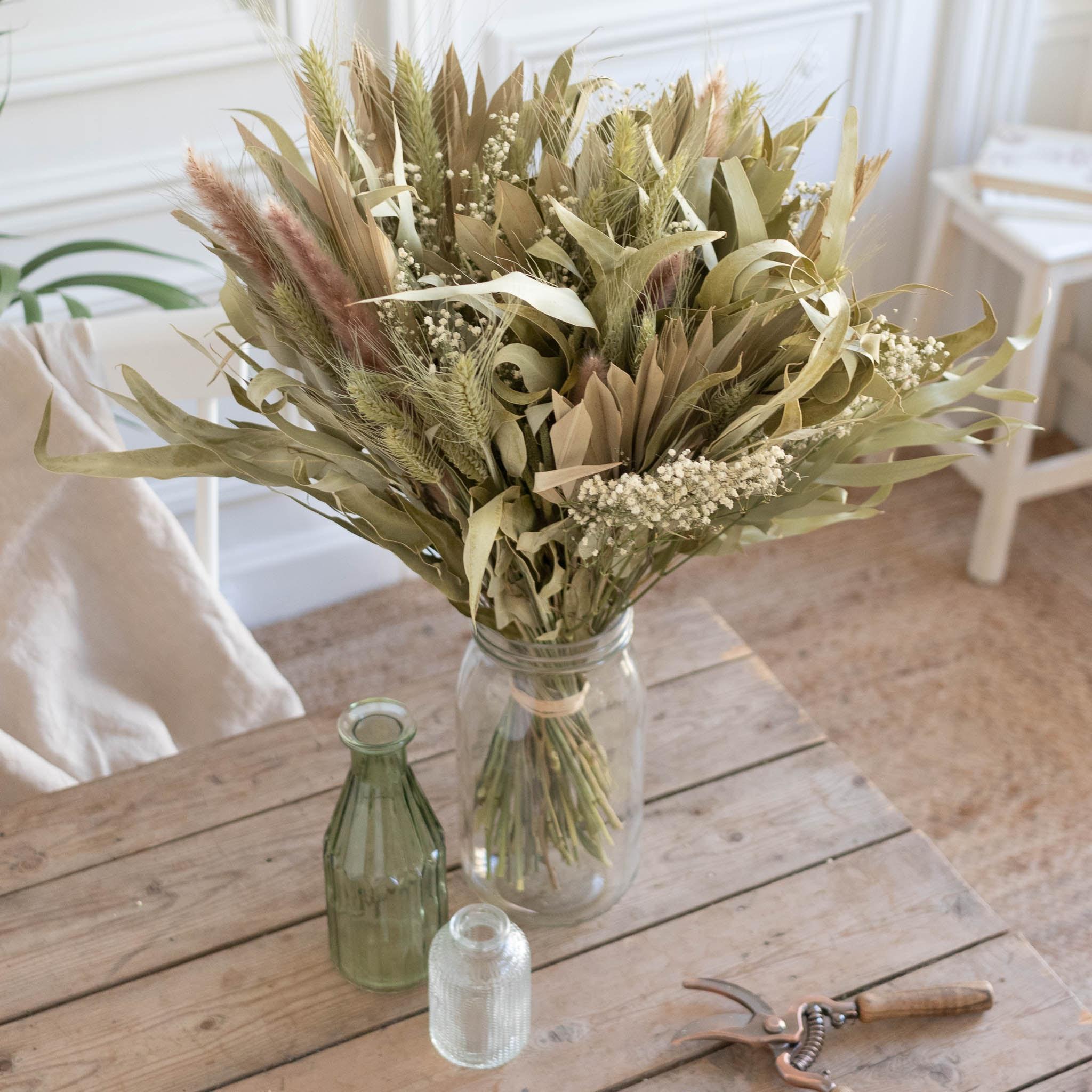 Bouquet Byron Bay & vase Le Parfait