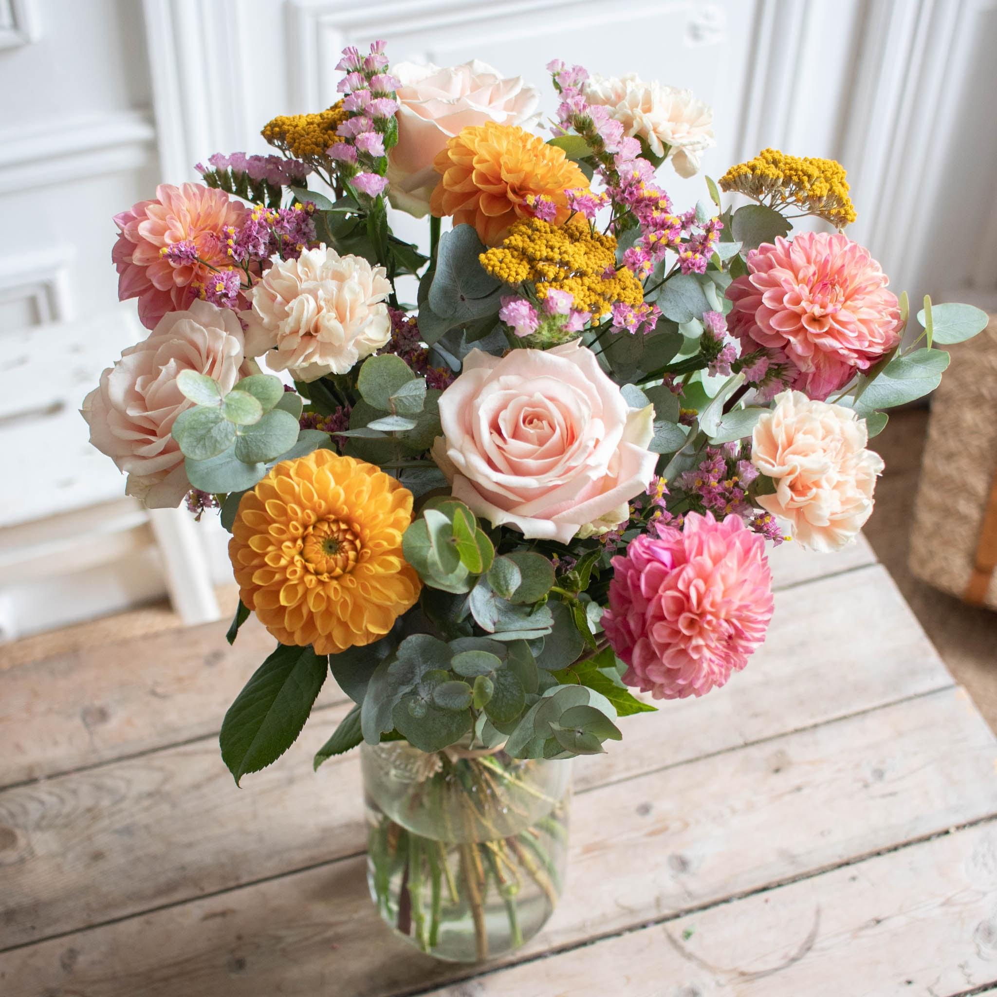 Bouquet Jaipur & vase Le Parfait