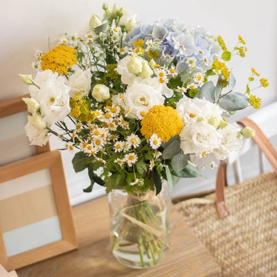 Bouquet Marbella dans un vase Le Parfait