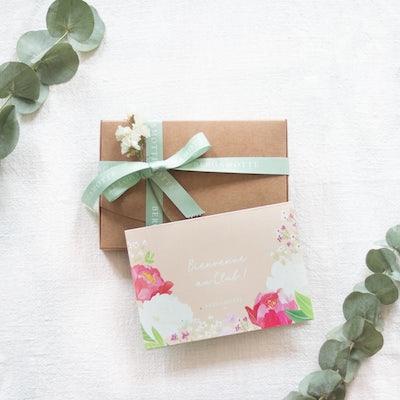 Coffret cadeau Flower club 6 mois
