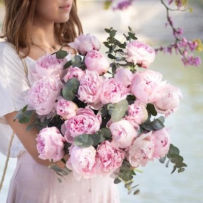 Unser Guérande + Blumenstrauß