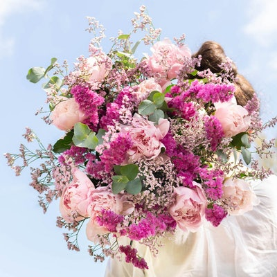 Unser Saint-Raphael + Blumenstrauß
