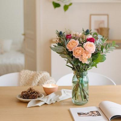 Bouquet fleurs Bergamotte