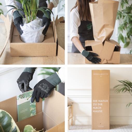 Maßgeschneiderte Verpackung