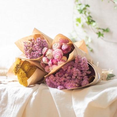"""Unser Blumen-Set """"Faro"""" aus getrockneten Blumen"""