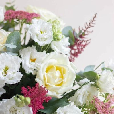 Nahaufnahme Blumenstrauß Cheverny