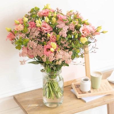 Bouquet Palm Beach+ et vase Le Parfait