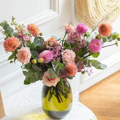 Bouquet Punta del Este & vase Anyse