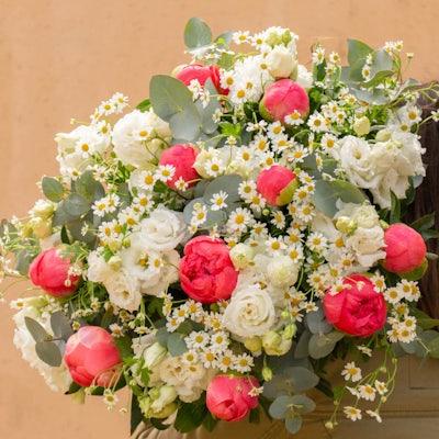 """Nahaufnahme unseres """"Gallipoli+"""" Blumenstraußes"""