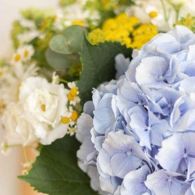 Nahaufnahme San Sebastian Blumenstrauß