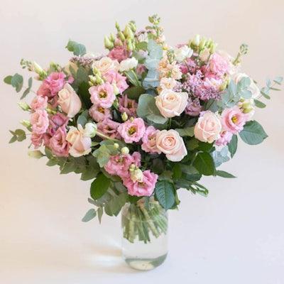 Bouquet Courchevel & vase Le Parfait