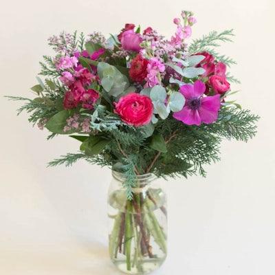 Bouquet Syracuse & vase Le Parfait
