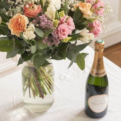 Bouquet Positano+ & Champagne