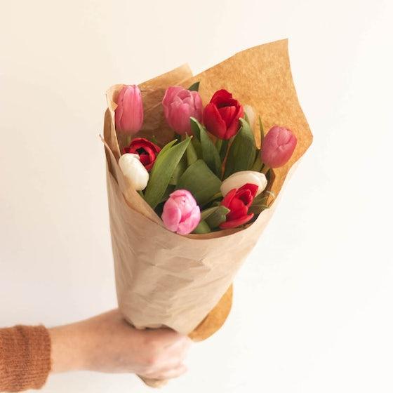Botte de 10 tulipes
