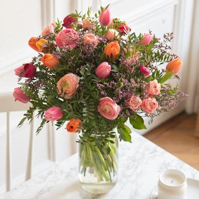 Bouquet Yukon+ & vase Le Parfait