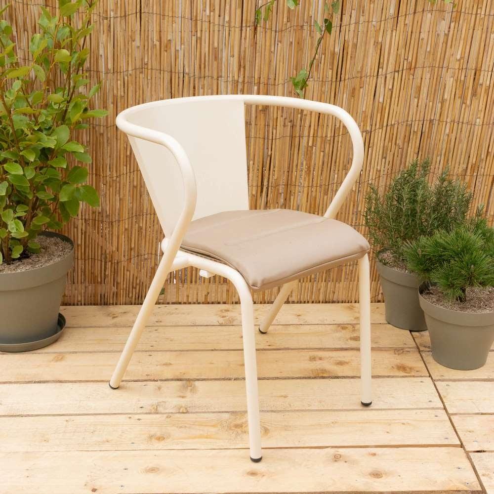 Coussin beige pour chaises Comporta