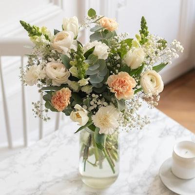Bouquet Morzine & vase Le Parfait