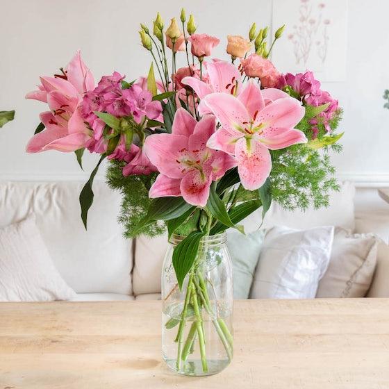 Bouquet improvisé Lourmarin