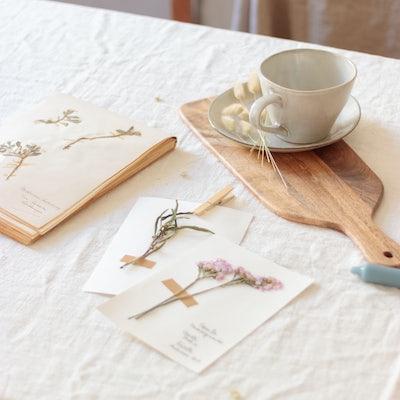 fleurs séchées kinfolk bergamotte