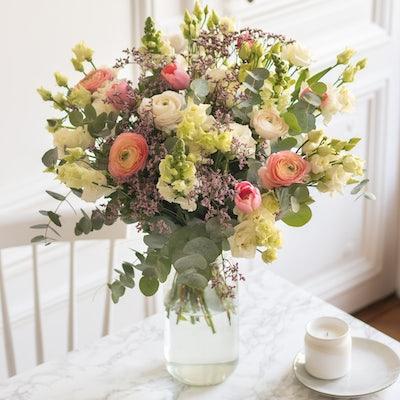 Bouquet Sierra Nevada & vase Le Parfait