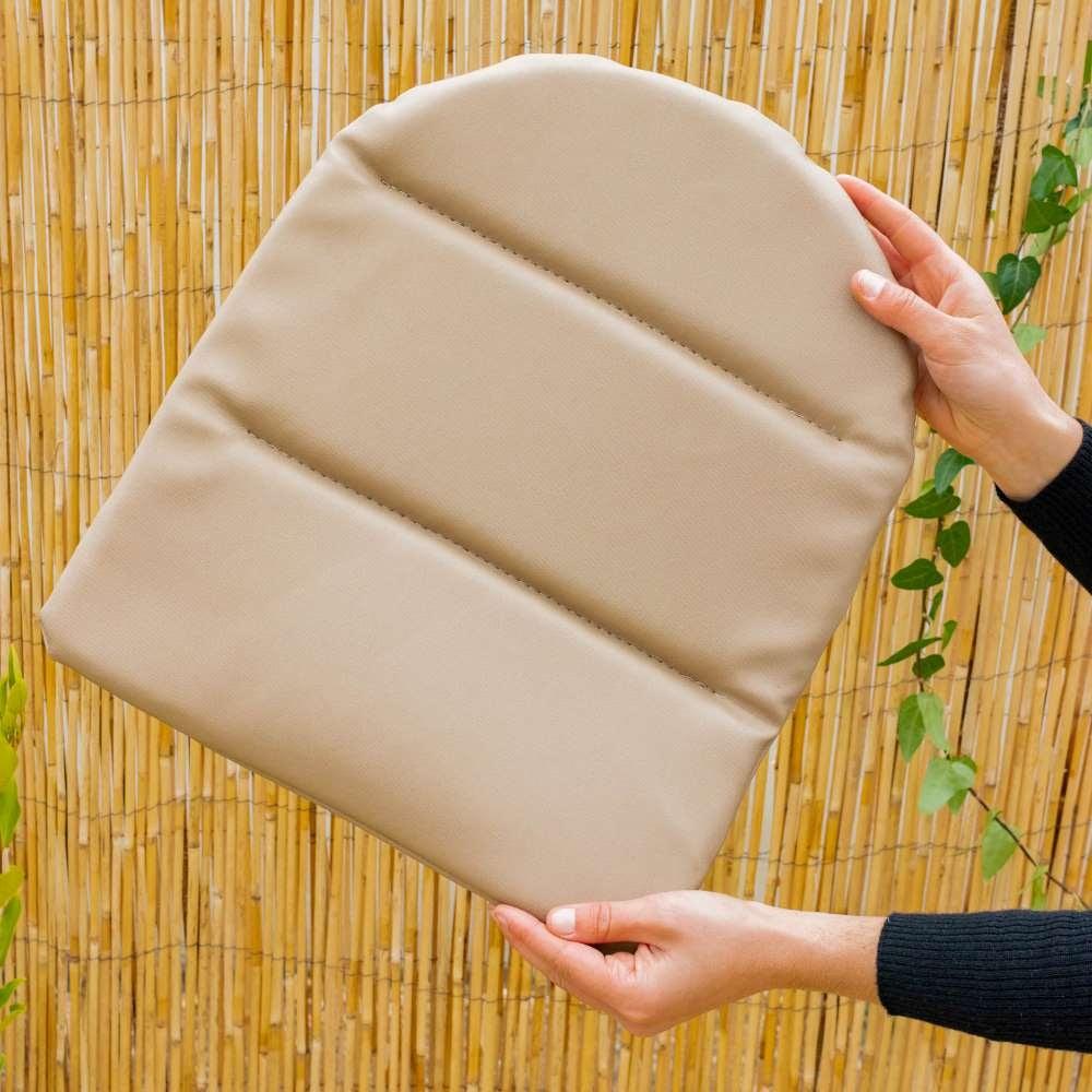Coussins beiges pour chaises Caparica