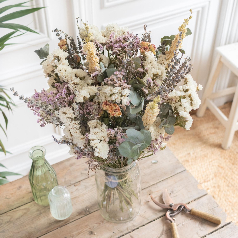 Bouquet Roussillon dans un vase Le Parfait