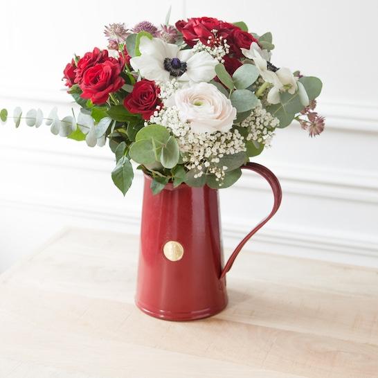 Jar burgundy