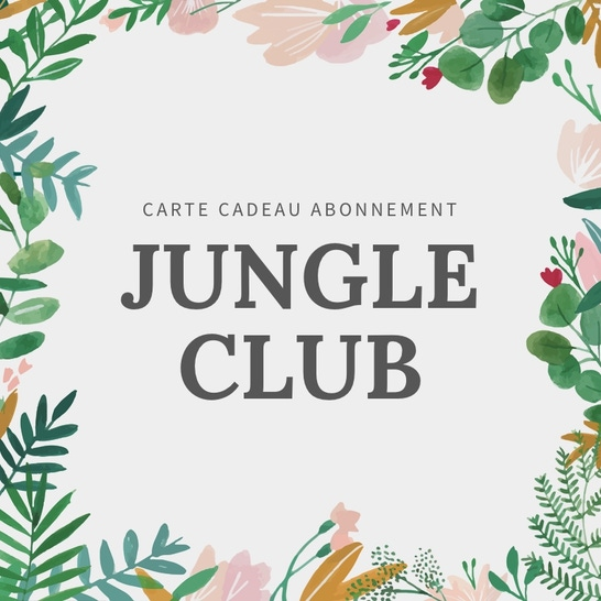 Jungle Club 3 mois