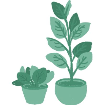 Plants delivery icon