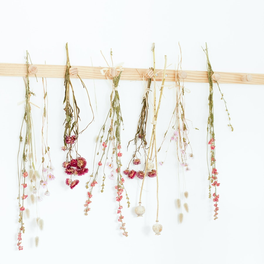 fleurs séchées méthode bergamotte
