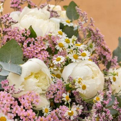 """Nahaufnahme unseres """"Bayonne+"""" Blumenstraußes"""