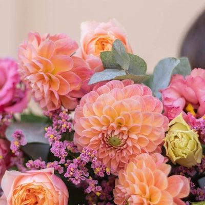 Nahaufnahme Blumenstrauß Menorca