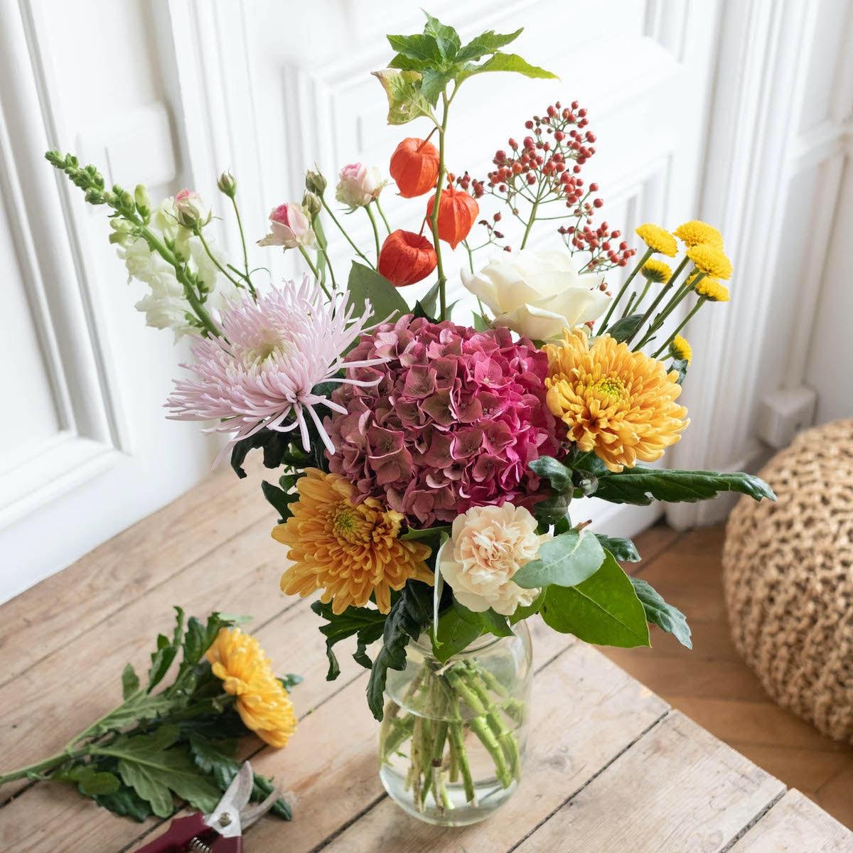 Le Bouquet de Laurie & vase Le Parfait