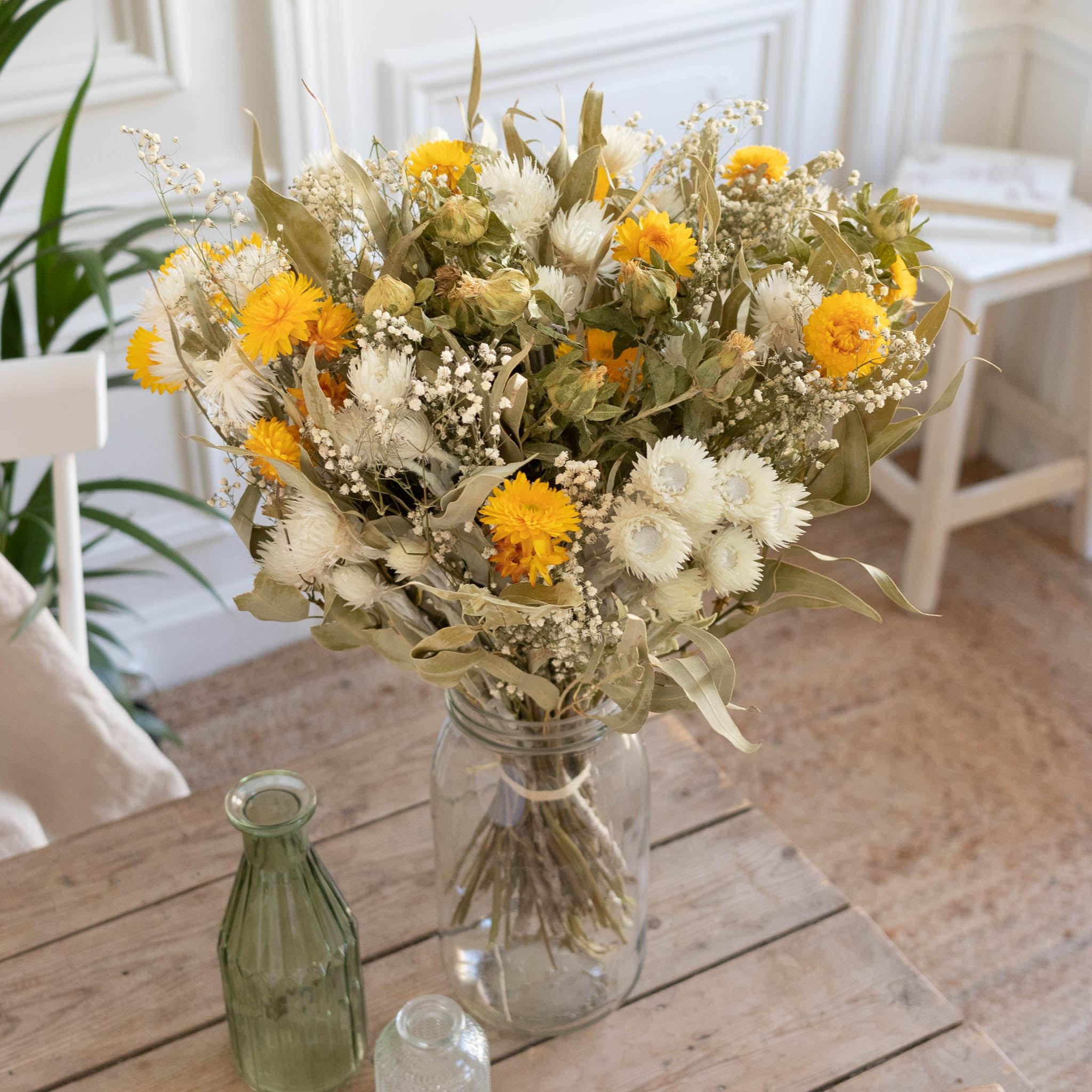 Blumenstrauß Alpilles & Le Parfait vase