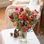 Bouquet Cabo San Lucas et vase Le Parfait
