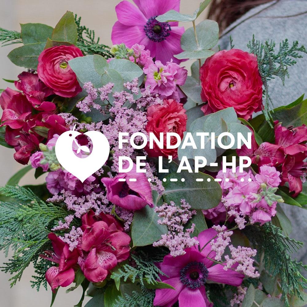 Bouquet en solidarité au fond d'urgence de l'APHP