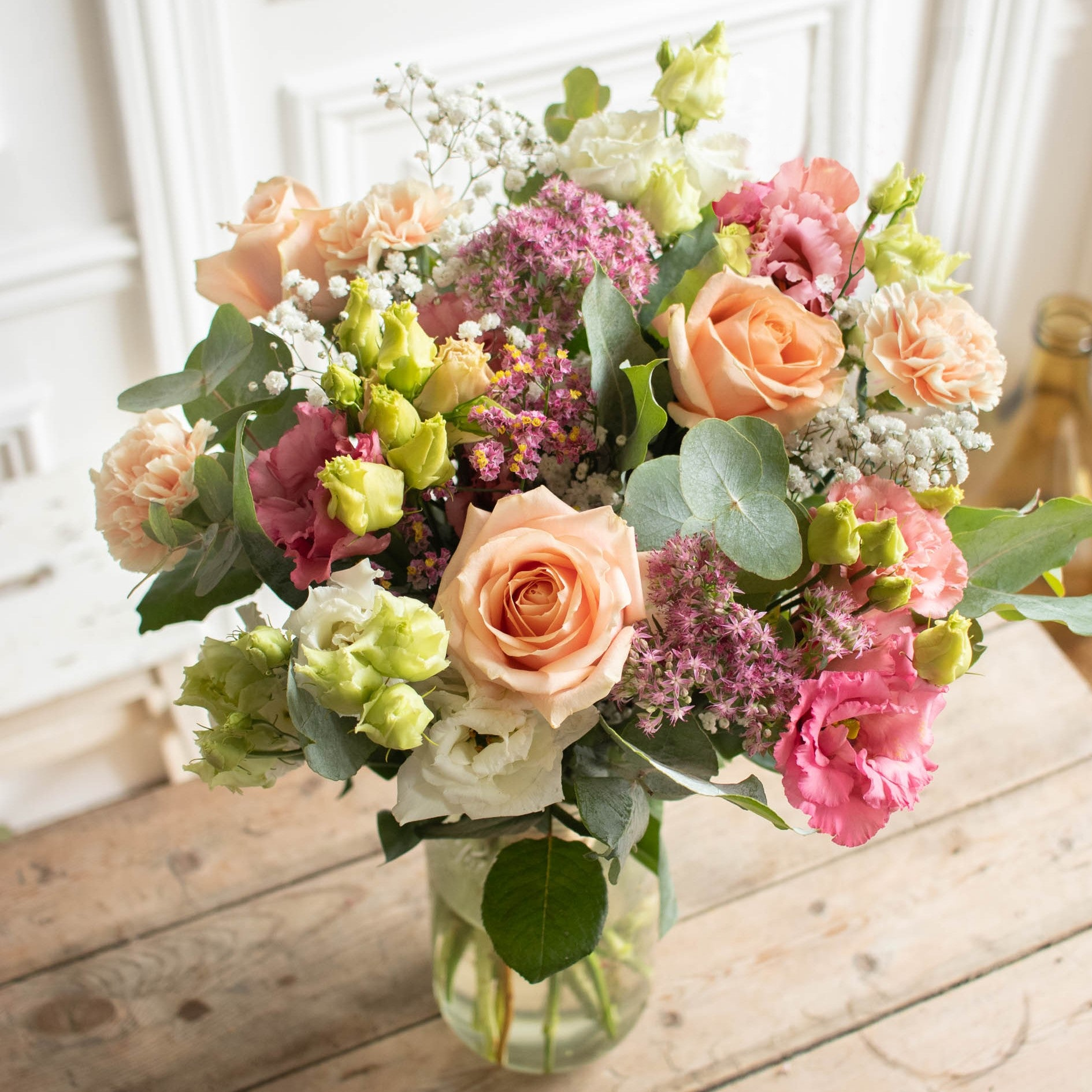 Blumenstrauß Sorrento & Le Parfait vase