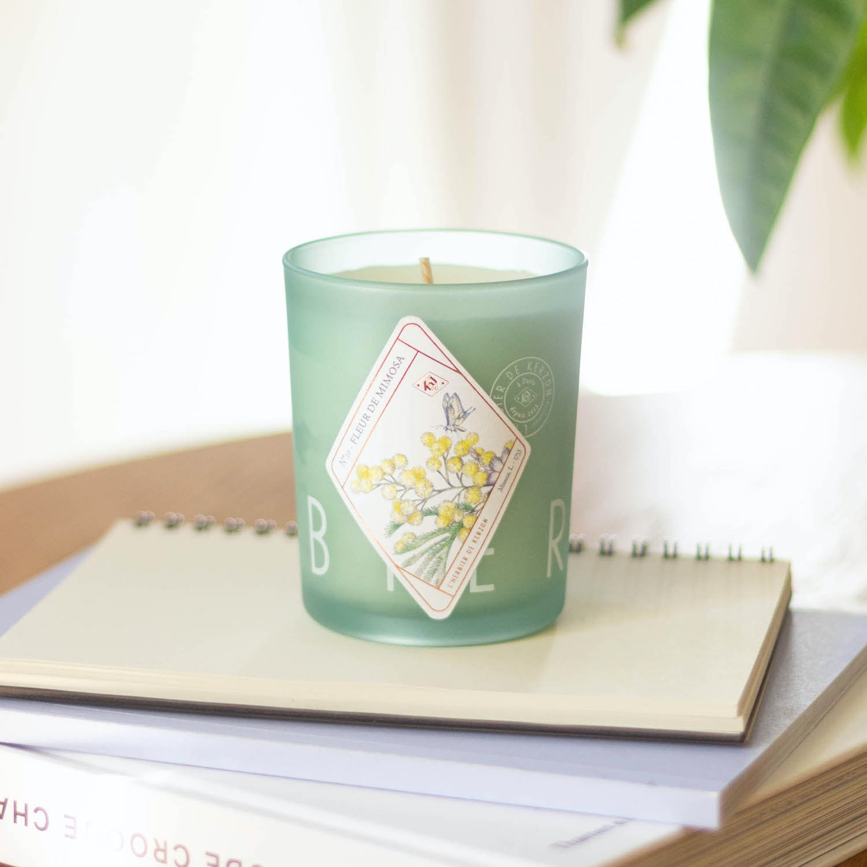 Keramik Byron Bay & kerze Fleur de Mimosa