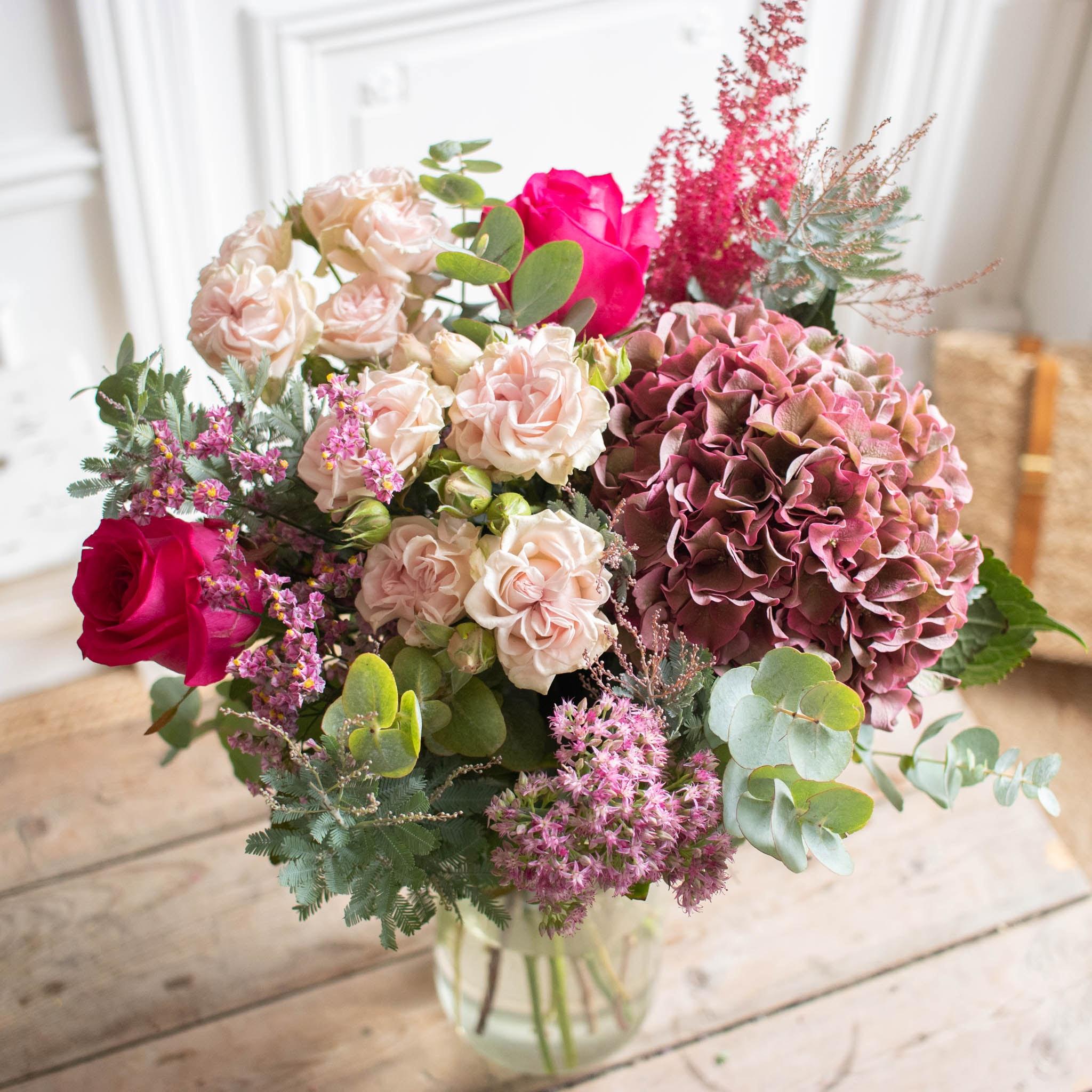 Bouquet Modena & vase La Parfait