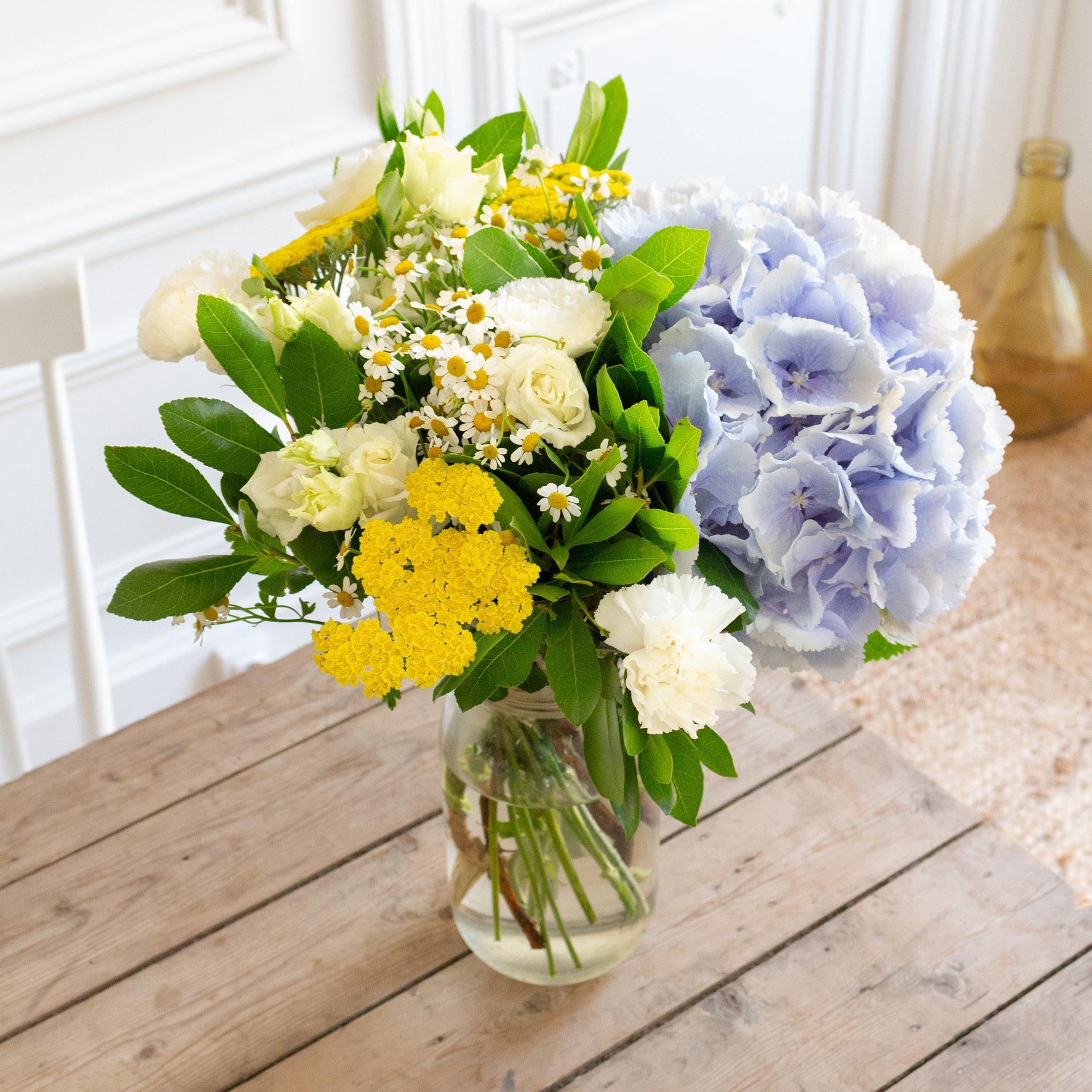 Bouquet Varanasi & vase Le Parfait