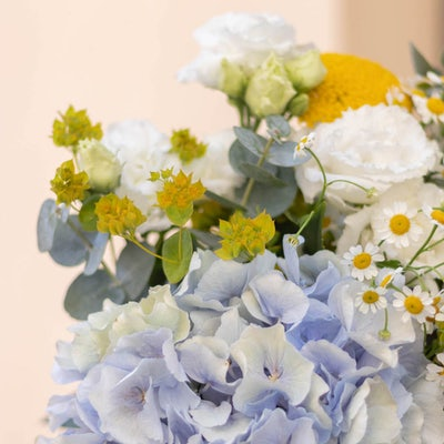Nahaufnahme Blumenstrauß Marbella
