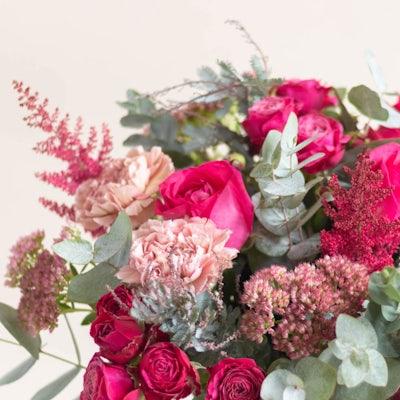Nahaufnahme Blumenstrauß Snowdonia