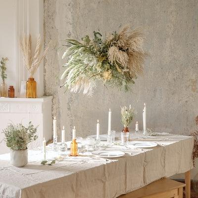 Tisch mit Kerzen