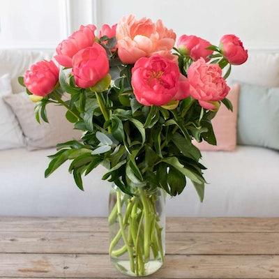 Unser DIY Strauß mit geöffneten Blüten.