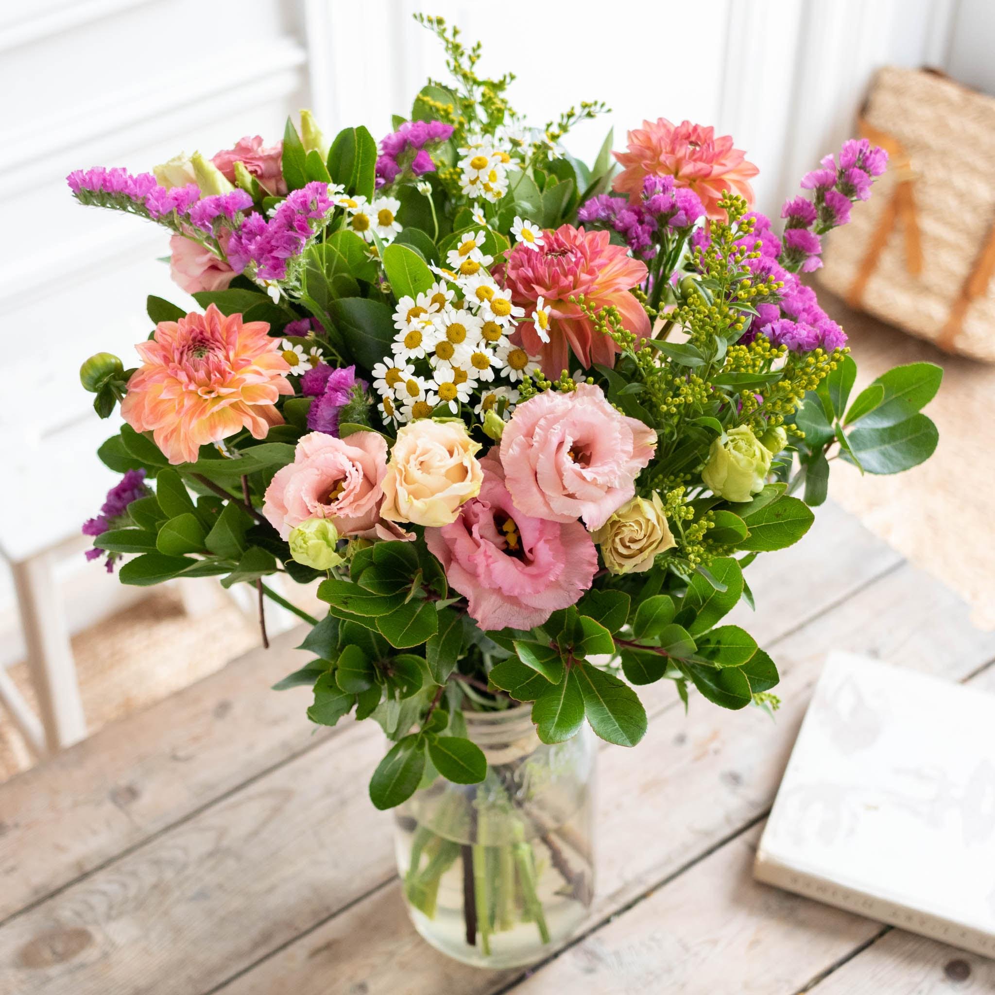 Bouquet Mundaka & vase Le Parfait