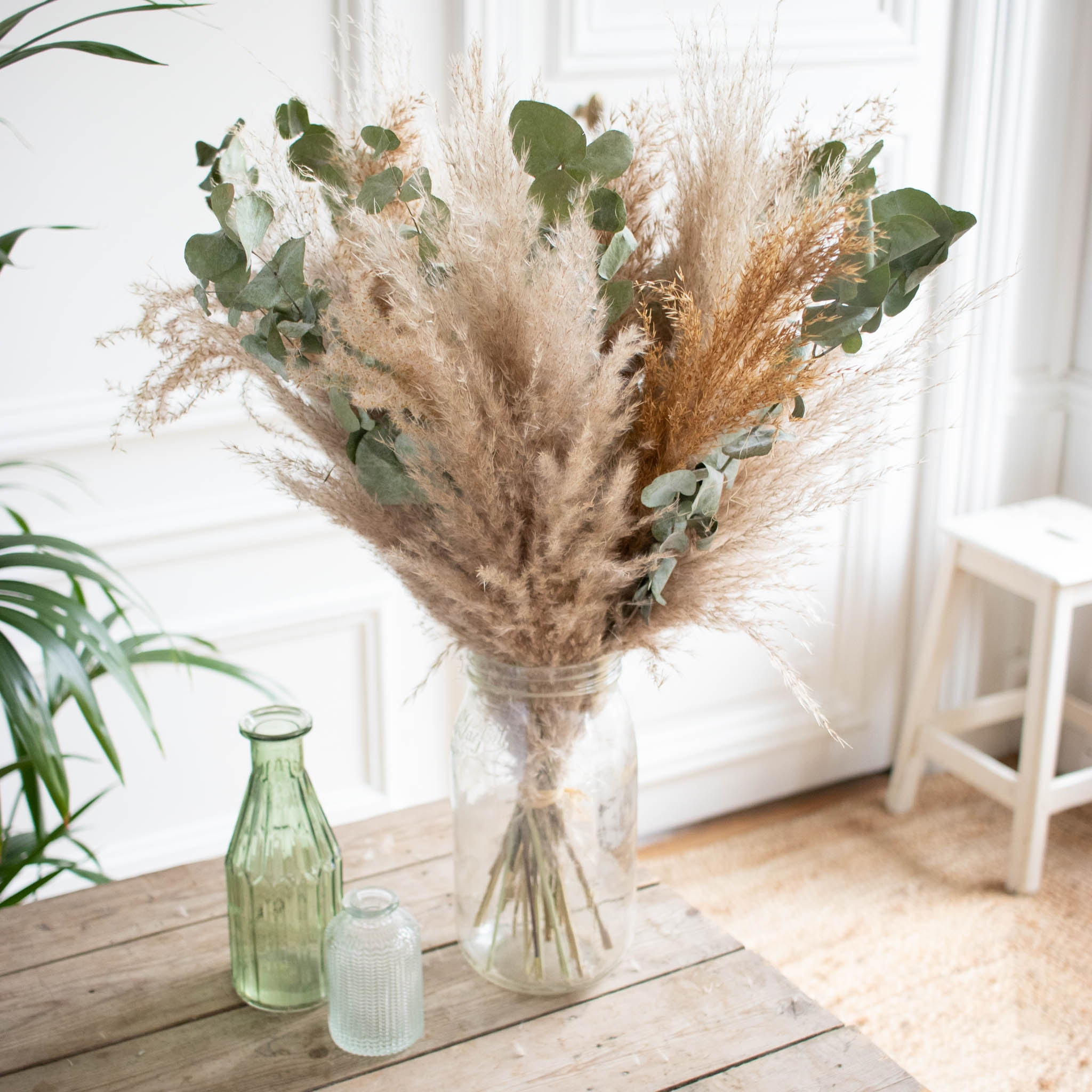 Bouquet Wadden & vase Le Parfait