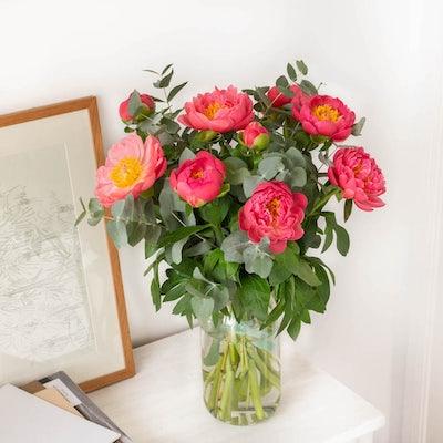 Bouquet Hyères & vase Le Parfait
