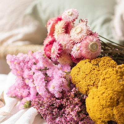"Nahaufnahme unseres Blumen-Sets ""Faro"""